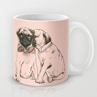 The Love of Pug Mug by Huebucket
