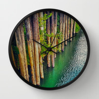 River Front Wall Clock by DuckyB (Brandi)
