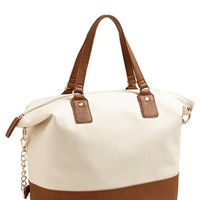 Cesca Two-Tone Tote (Juniors)
