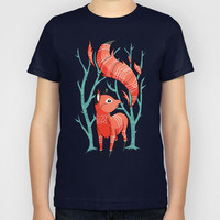 Winter Fox Kids T-Shirt by Freeminds