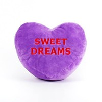 Dylan's Candy Bar Conversation Heart Pillow
