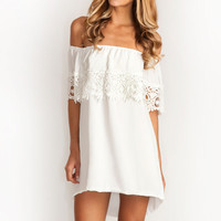 Stone_Cole_Fox Bonita dress in white