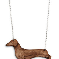 Ruff-and-Tumble Necklace in Dachshund | Mod Retro Vintage Necklaces | ModCloth.com