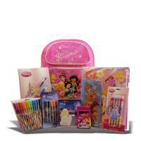 Back to School Supplies Disney Princess Backpack and Stationary for Birthday Gifts for Girls and Get Well Presents