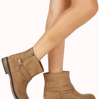 On-The-Edge Buckled Booties
