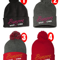BANGERZ Miley Cyrus Winter Beanie