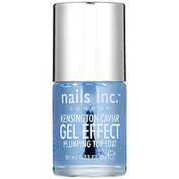 nails inc. Kensington Caviar Gel Effect Plumping Top Coat (0.33 oz)