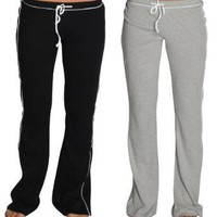 Alki'i 2-Pack Junior Womens lounge/workout/gym/yoga pants