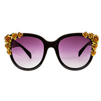 The Floral Gold Flower Sunglasses