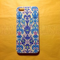 iPhone 5c case, iPhone 5c Case, Blue and Light Blue Damask iPhone 5c Cover, iPhone 5c Cases, iPhone 5c Case, Cute iPhone 5c Case