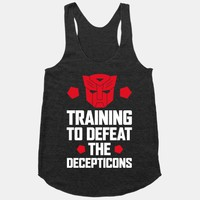 Training to Defeat the Decepticons