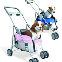 Pet Valet Dog Travel Stroller and Carrier Combo