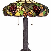 Quoizel TF1558TWT Tiffany Western Bronze Finish 23 Inch Tall Table Lighting