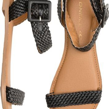 O'NEILL JAZZEY BRAIDED FAUX LEATHER SANDAL