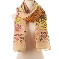 Camo Multi Topanga Tie All Scarf - Scarves - Shop | Theodora & Callum