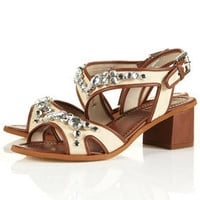 NARNIA Jewel Mid Sandals - Heels - Shoes - Topshop USA