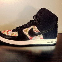 Floral Nike High Tops