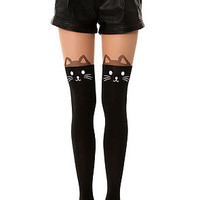The Black Cat Tights