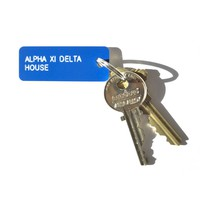 The Sorority House Key Tag - Alpha Xi Delta