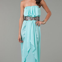 Strapless Floor Length Dress
