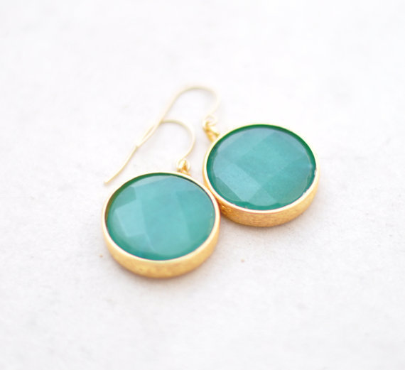 unique statement gemstone earrings may fashion by YUNILIsmiles