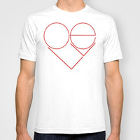 MODERN LOVE T-shirt by RichCaspian