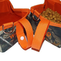 Realtree Collapsible Travel Dog Bowls - Set of 2 - Camouflage