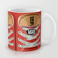 Cute red Vans all star baby shoes apple iPhone 4 4s 5 5s 5c, ipod, ipad, pillow case and tshirt Mug by Three Second
