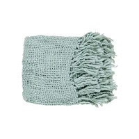 Sea Foam Woven Throw
