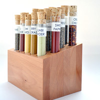 Spiceologist Block With 22 Gourmet Spices