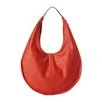 French Connection Metal Corner Double Handle Hobo