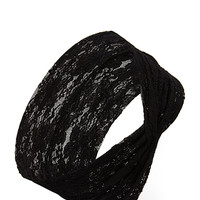 Floral Lace Headwrap