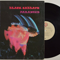 "BLACK SABBATH - ""Paranoid"" vinyl record"