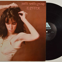 "PATTI SMITH GROUP - ""Easter"" vinyl record"