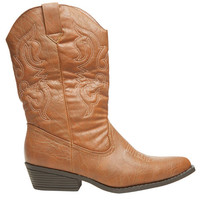 Embroidered Cowboy Boots | Wet Seal