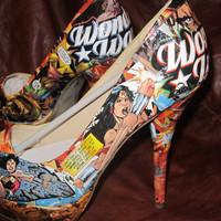 Wonder Woman Heels 