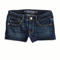 's Denim Shortie (Dark Clean Indigo)