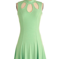 Rose Mint Soda Dress | Mod Retro Vintage Dresses | ModCloth.com