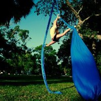Deluxe Aerial Yoga Hammock (Yoga Swing Aerial Yoga, Unnata, Flying Antigravity)