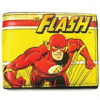 DC Comics The Flash Distressed Bifold Wallet