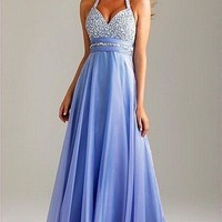 Prom Dresses Party Evening Bridesmaid Cocktail Long Gown