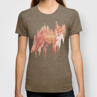 Remix Red Fox T-shirt by Ben Geiger