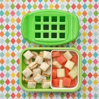 Funbites Green Squares Makes Bite Size Food Easy