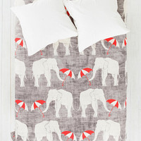 Holli Zollinger For DENY Elephant & Umbrella Duvet Cover - Urban Outfitters
