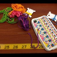 DIY Embroidered Iphone 5 Case