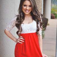 Closet Candy Boutique · Sweet on Sugar Dress - Red
