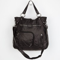 T-Shirt & Jeans Front Pocket Tote Bag Black One Size For Women 19440810001