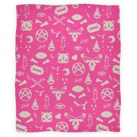 Cute Occult Blanket