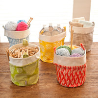 Fabric Bucket Storage-Large - See Jane Work