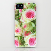 Sweetheart Roses iPhone & iPod Case by Tess Elizabeth